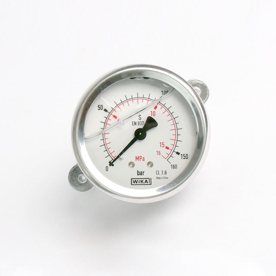오일충만형 압력계 판넬형 160bar 2.5인치 1/4나사