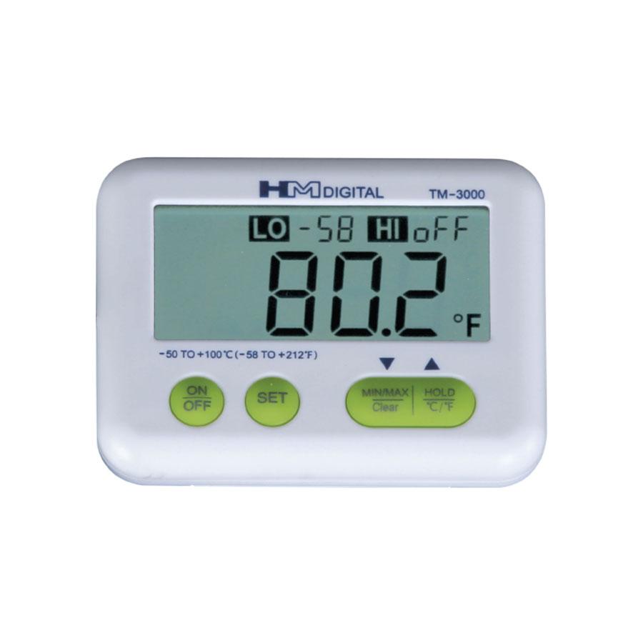 고급 휴대용 냉장고온도계 TM-3000 대형 LCD 알람
