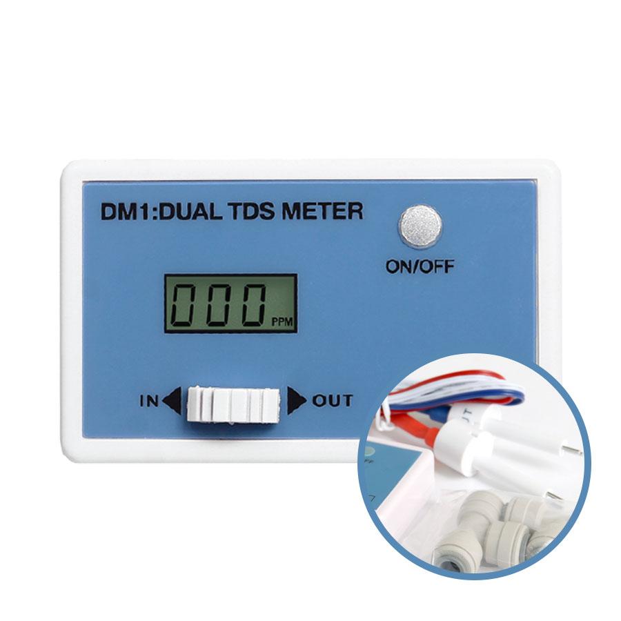 고급 정수기모니터 인라인듀얼 TDS모니터 DM-1