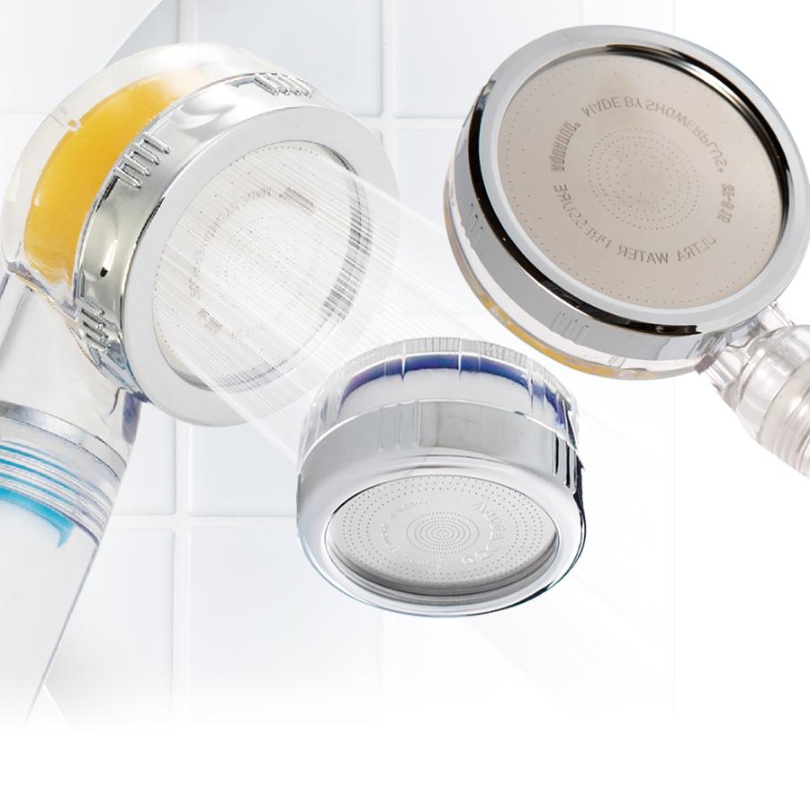 샤워플러스 욕실용 샤워헤드 필터 선택형