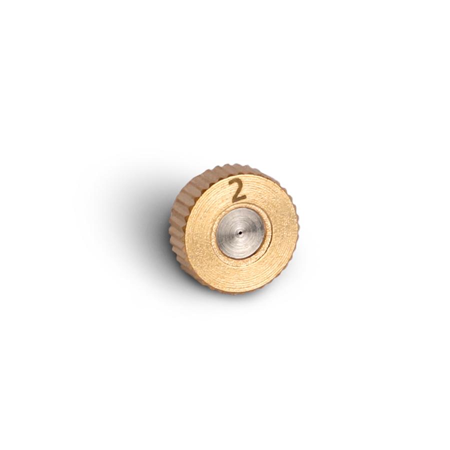 미니 미스트 분사 노즐 0.2mm 저압용 3/16(10/24M)