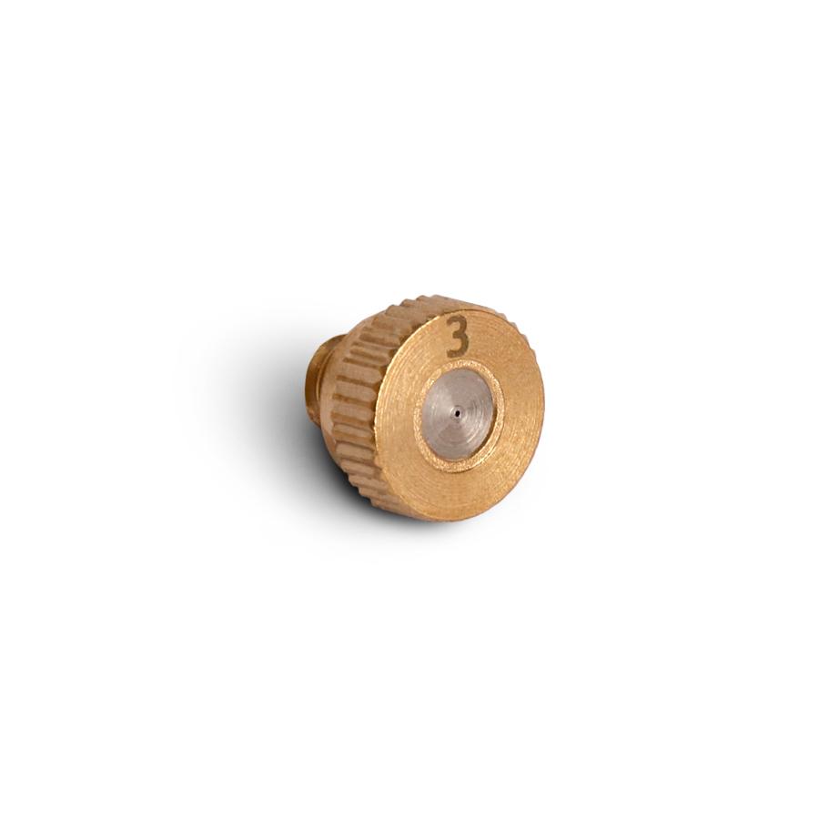 미니 미스트 분사 노즐 0.3mm 저압용 3/16(10/24M)