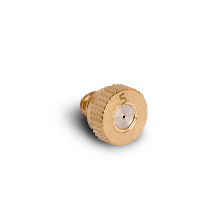미니 미스트 분사 노즐 0.5mm 저압용 3/16(10/24M)