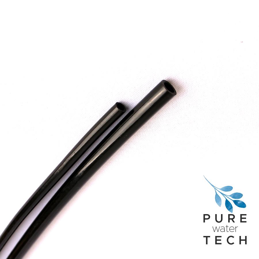 LLDPE 튜빙 1/4( ST-TU-140 1m) 블랙