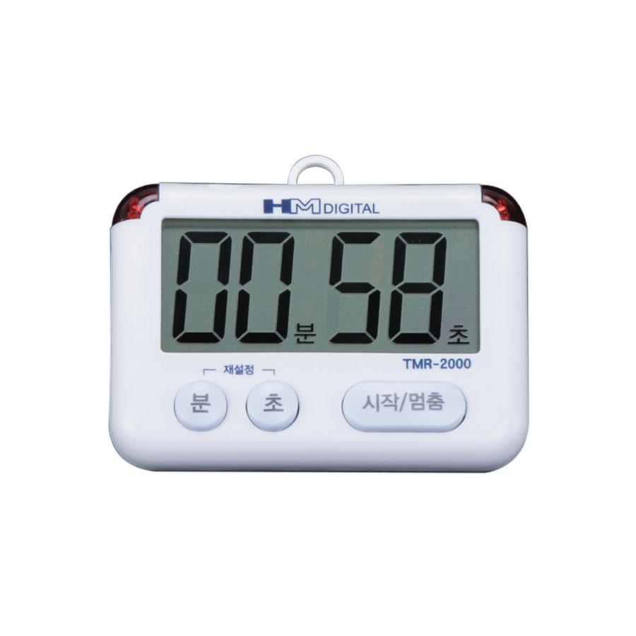 고급 휴대용 LED광타이머 타이머 TMR-2000 알람 무음