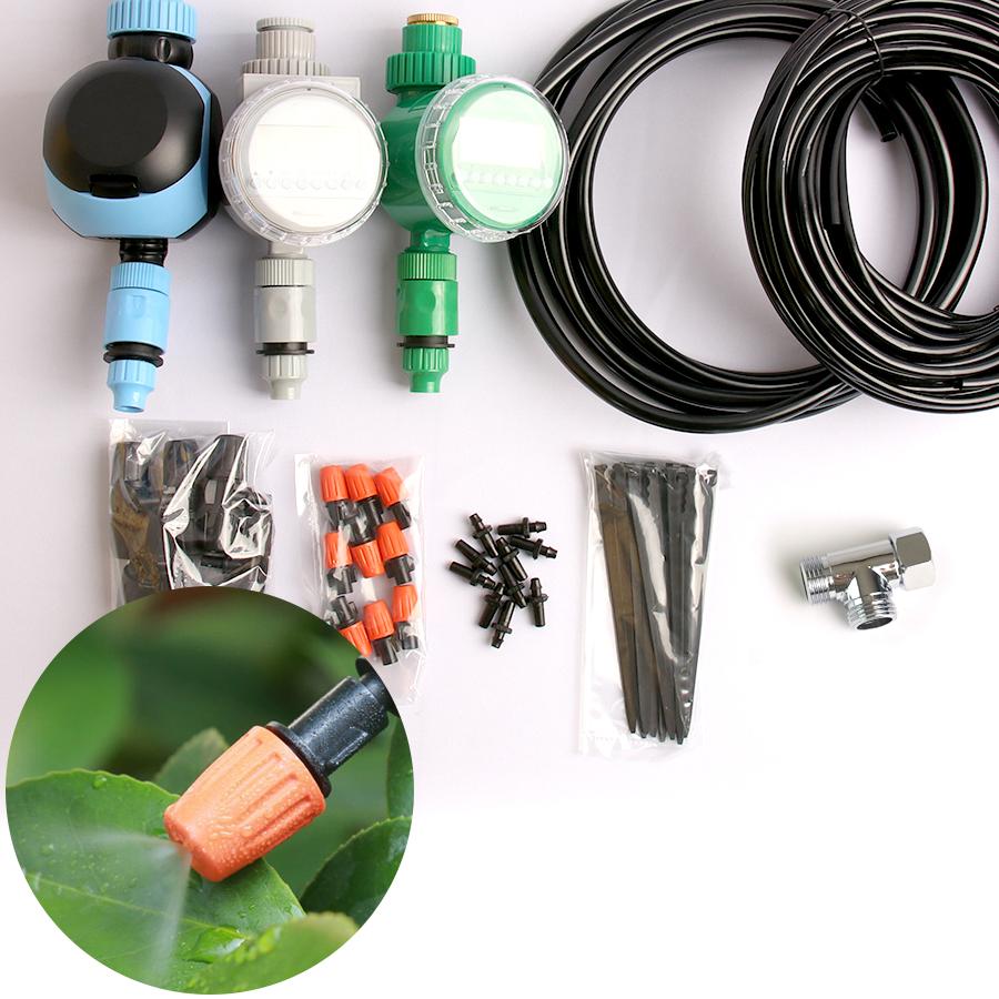 정원용 3구타이머연결 DIY 튜빙홀더 10개 스프링쿨러
