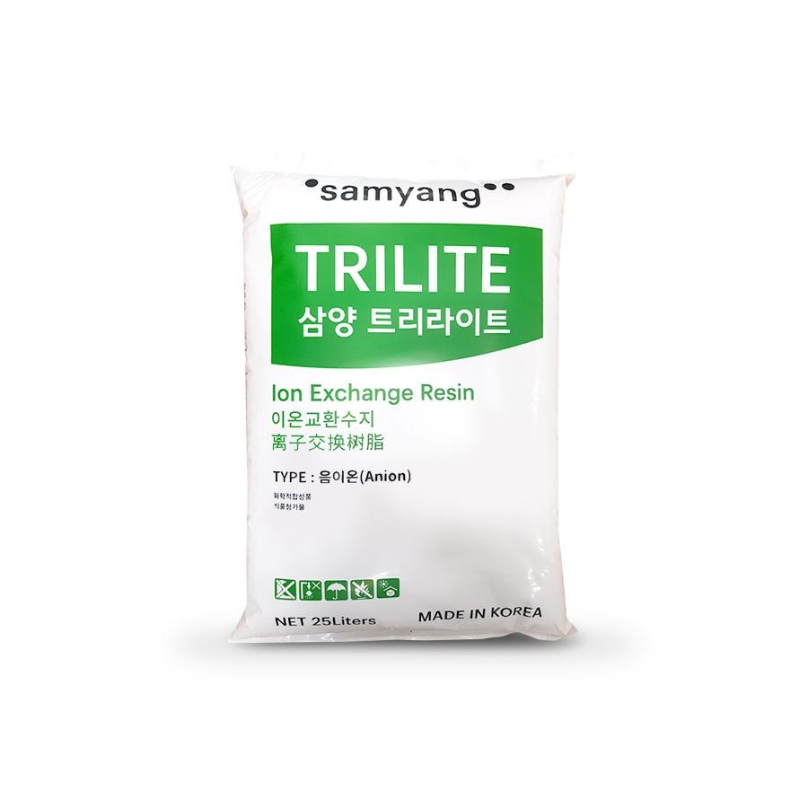 균일계 강염기성 음이온교환수지 Gel TRILTE MA-12