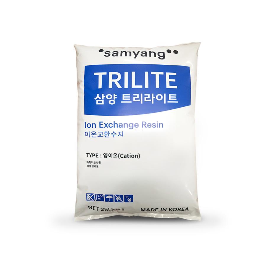 강산성 양이온교환수지 Porous 삼양사 TRILITE CMP08