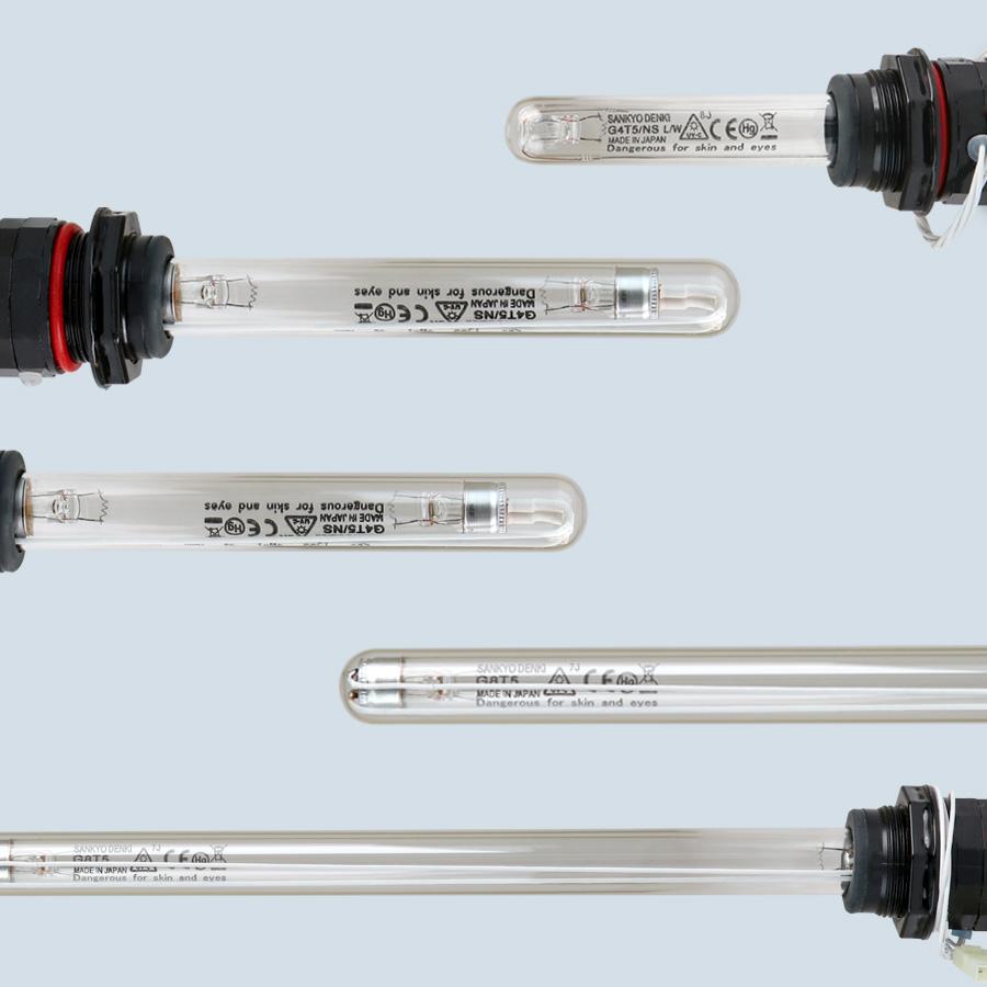 [WS] UV이중관 자외선살균램프 모음전 4-16W