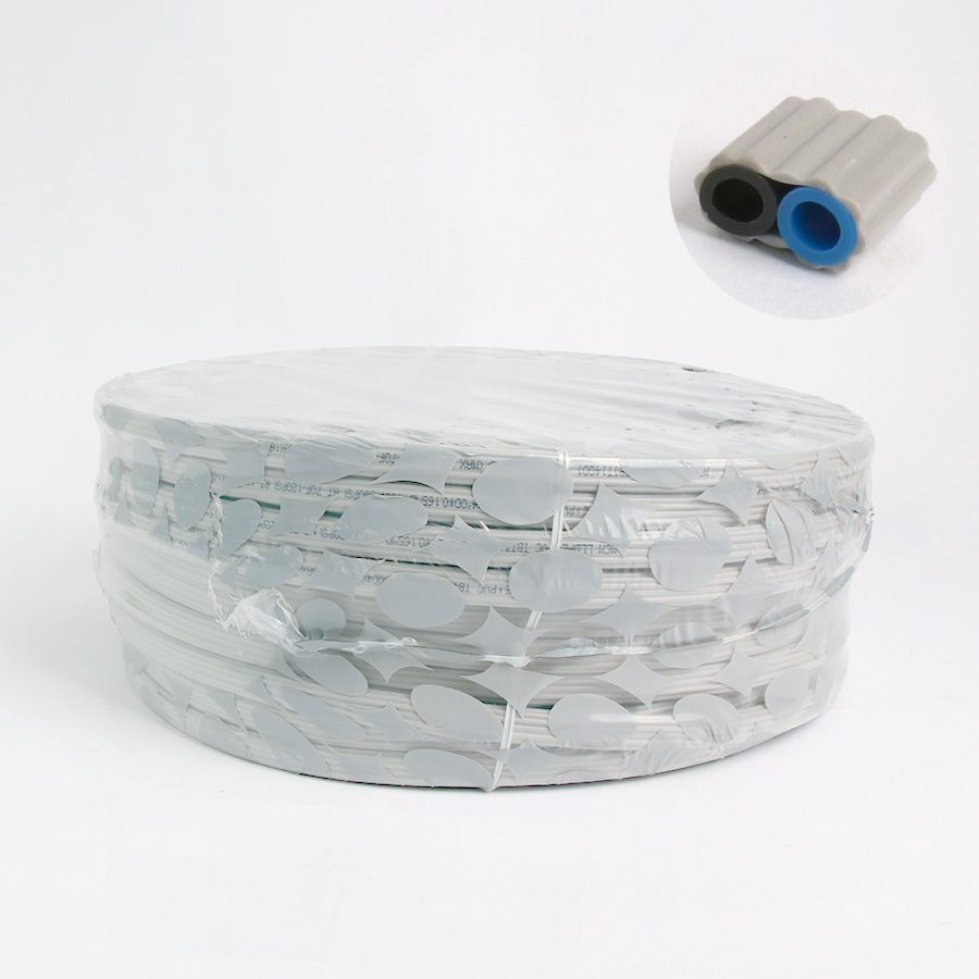 LLDPE 트윈튜빙(W) 1/4 50m 1개 정수기호스