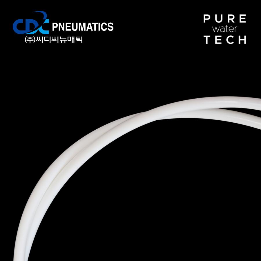 [CDC] PE 튜빙 4mm 1m 화이트 (PE 0425)