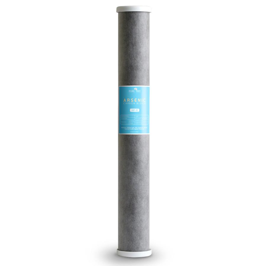 비소제거 카본블록필터 0.5um 500mm