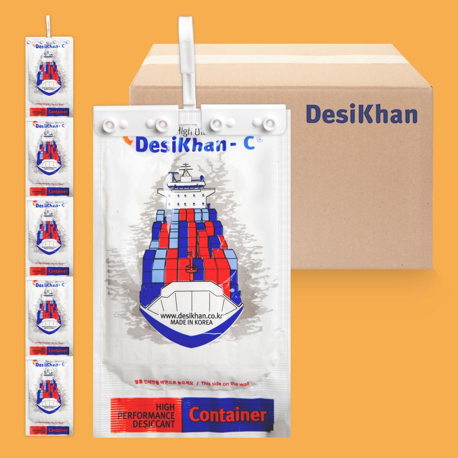 [젤리제습제] 데시칸-C 창고 컨테이너 습기제거제 1박스(12세트)