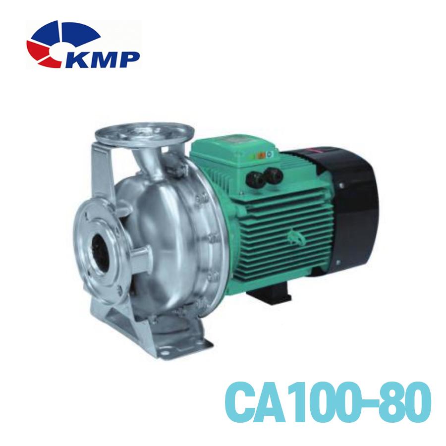 [KMP] 스테인레스 스틸 횡형단단 원심펌프 CA100-80 모델 선택