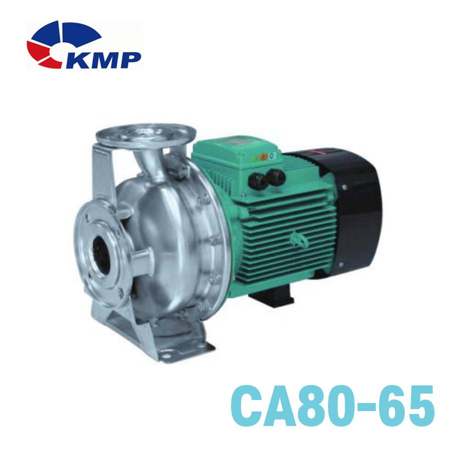 [KMP] 스테인레스 스틸 횡형단단 원심펌프 CA80-65 모델 선택