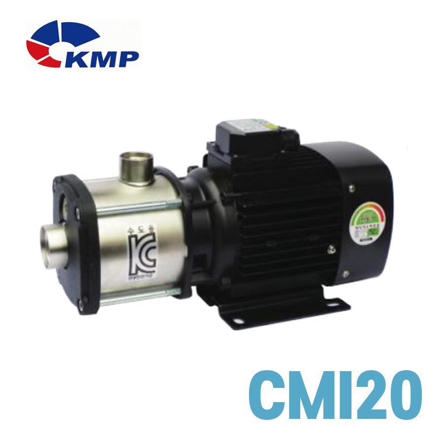 [KMP] 횡형다단 원심펌프 60Hz CMI20 모델 선택