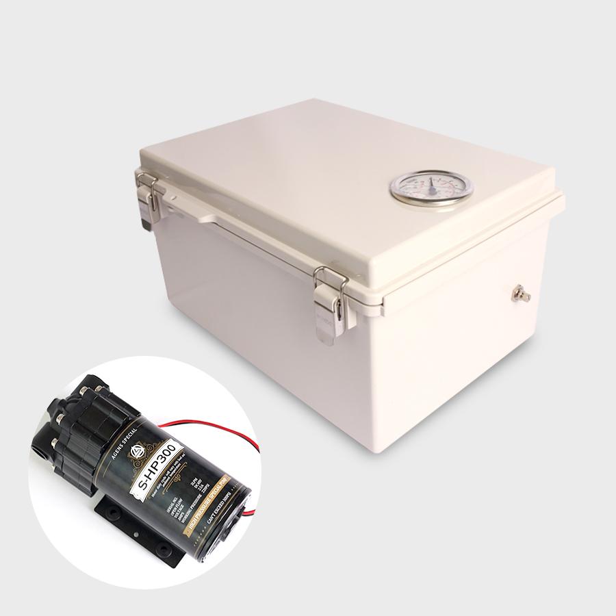 팔고[N] 약품분사용 포그장치 자동가압기 기본형 (1/4) 연결아겐스분사노즐장치 > 고압포그분사(30K이상) > 고압분사장치