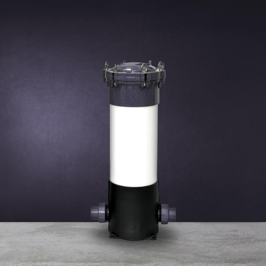 [H] PVC형 활성탄 카본 장치 UPVC 5구 20인치  ANSI 40A 유니언