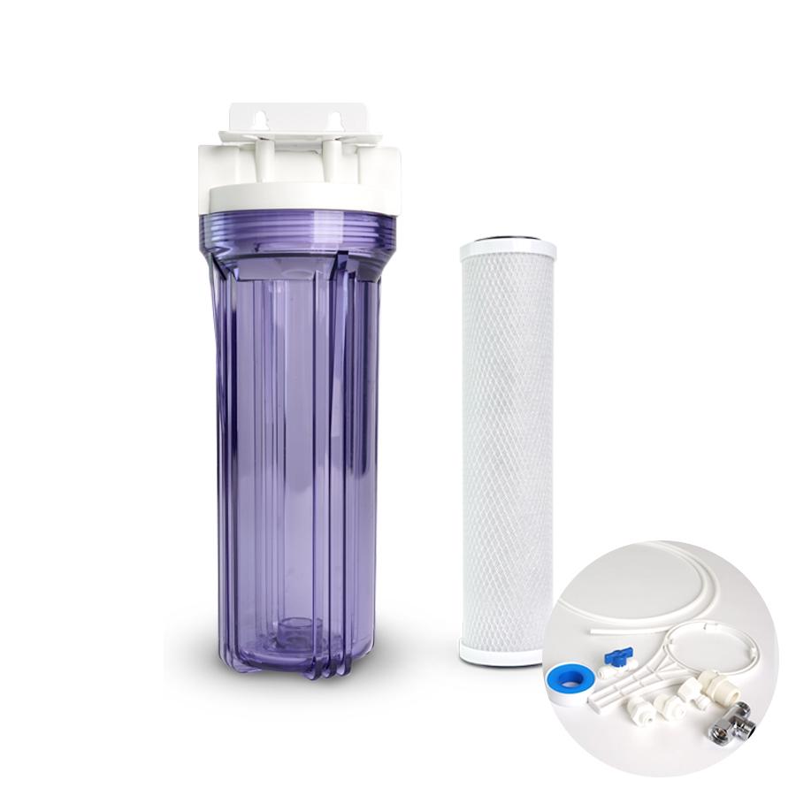[H] 냄새제거 물맛개선 카본 정수기 10인치 1단 15A DIY